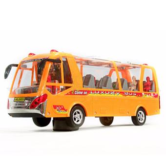 Đồ chơi mô hình xe buýt chạy pin có nhạc 2609B