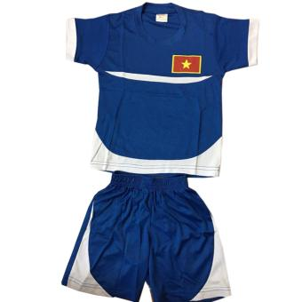 Set bộ đồ thể thao có in hình lá cờ đội tuyển bóng đá Việt Nam