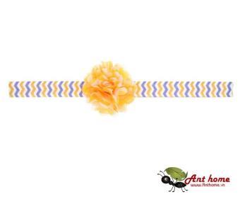 Băng đô cao cấp phụ kiện tóc cho bé yêu AHBĐ8 (hồng vàng)