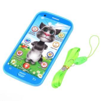 Điện thoại mèo tôm biết nói 10 chức năng (Xanh) T2-61