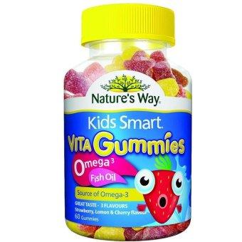 Kẹo Kids Smart Vita Gummies Omega 3 Fish Oil 60 viên
