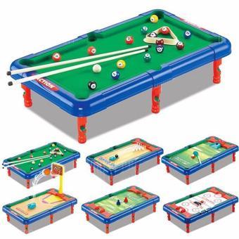 Đồ chơi đa năng 6 trong 1 (Bóng đá, bóng rổ, golf, bi da, billad, khúc côn cầu)