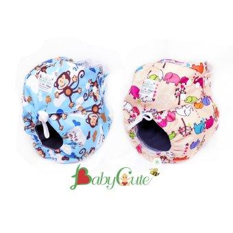 Mua Combo 2 bộ tã vải đêm BabyCute size L (14-24kg) giá tốt nhất