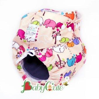 Combo 2 bộ tã vải đêm BabyCute size L (14-24kg)