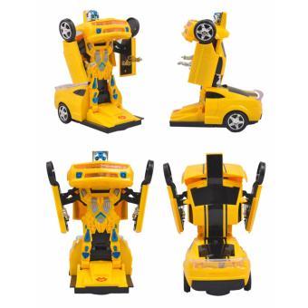 Ô Tô Biến Hình Thành Robot Transformers