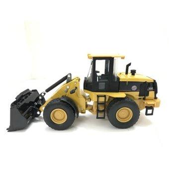Mô hình xe máy xúc 6001 (Vàng)