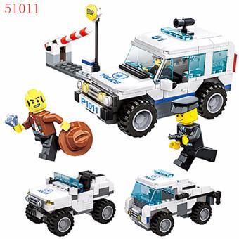 Bộ lego xếp hình Wange - Cảnh sát đặc nhiệm 3 in 1