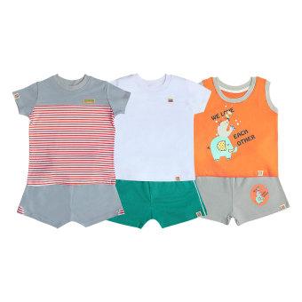 3 bộ áo quần bé trai VƯỜN XUÂN