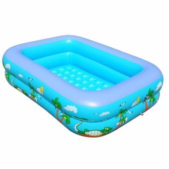 Bể Bơi Phao Trẻ Em Swimming Pool 120cm (Xanh)