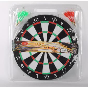 Bộ đồ chơi phi tiêu Dart Board cao cấp 17 IN loại tiêu chuẩn 6 phi tiêu