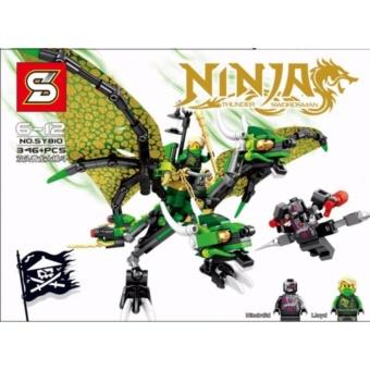 Bộ xếp hình Ninja Rồng xanh