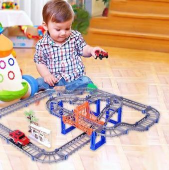 Bộ Ô TÔ ĐƯỜNG RAY - Đồ chơi lắp ráp đường đua ô tô hay nhất hiện nay