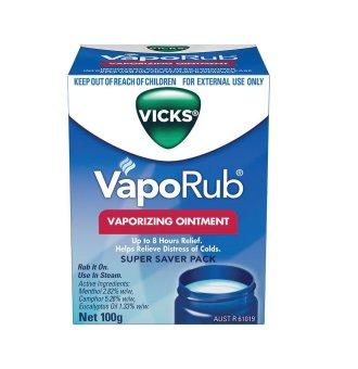 Dầu Bôi Ấm Ngực Giảm Ho Cho Trẻ Vicks VapoRub 100g