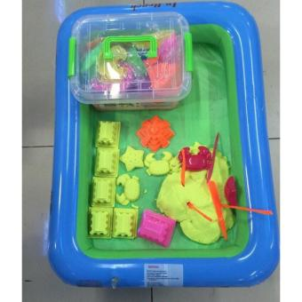 Bộ đồ chơi khuôn cát nặn vi sinh cao cấp giúp bé phát triển trí tưởng tượng