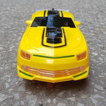Xe Ôtô biến hình (vàng)