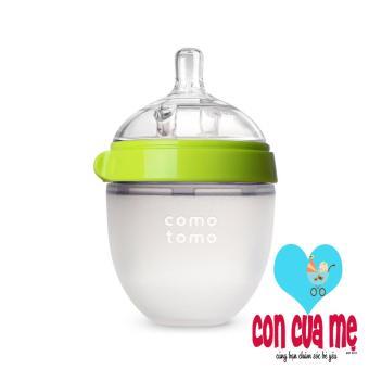 Bình sữa silicone Comotomo 150ml - Hàng phân phối chính thức