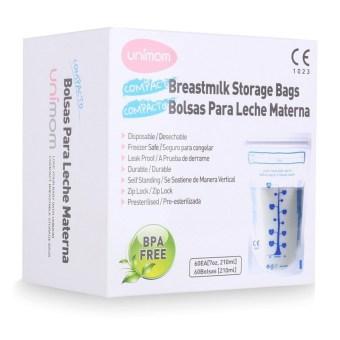 Hộp 30 túi đựng sữa mẹ UNIMOM Compact Không có BPA 210 ml - UM870251