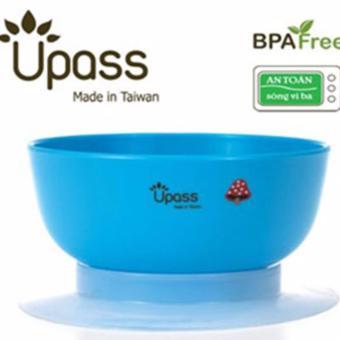 Bát ăn dặm 3 giai đoạn không BPA có đế hút chân không chống đổ, dùng được trong lò vi sóng UP5023YV