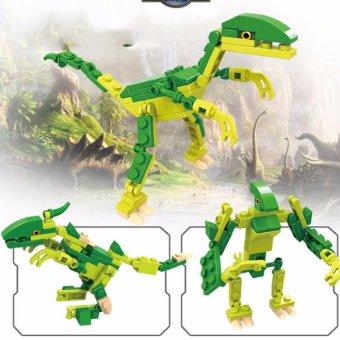 Bộ lắp ráp khủng long 3 trong 1 (3 hình dạng khác nhau)