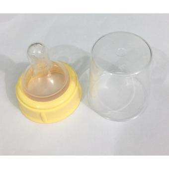 Bộ chụp núm ti bình sữa Medela ( size S ) - hàng nhập khẩu