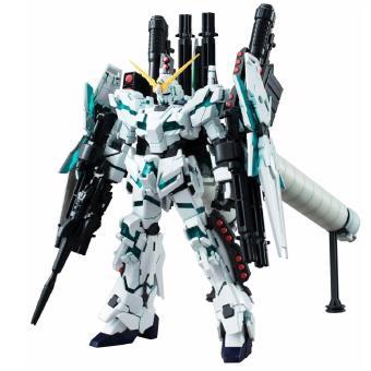 Mô Hình Lắp Ráp Bandai High Grade Universal Century Full Armor Unicorn Gundam (Green Ver)