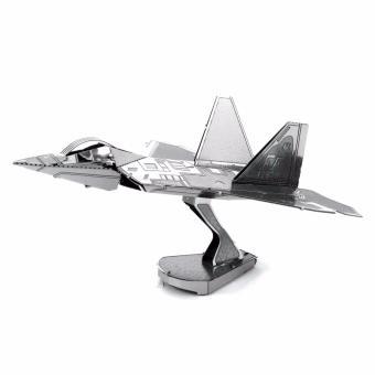 Xếp hình 3D kim loại MÁY BAY CHIẾN ĐẤU F22 ALCC