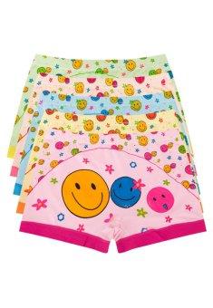 Bộ 5 quần lót đùi bé gái ngộ nghĩnh Salome Fashion