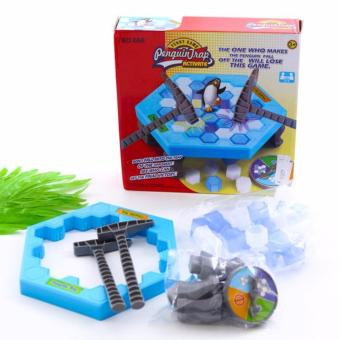 Bộ trò chơi đập ô băng giải cứu Chim Cánh Cụt