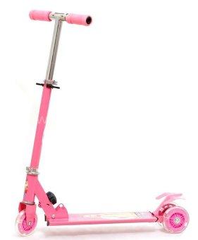 Xe trượt scooter phát sáng (Hồng)