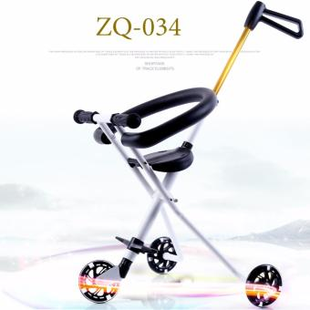 Xe đẩy 3 bánh dạo chơi cho bé ZQ-034