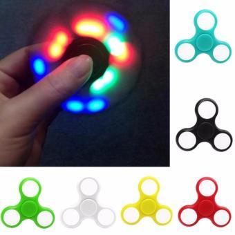Con Quay Fidget Spinner không ma sát đèn LED 7 màu