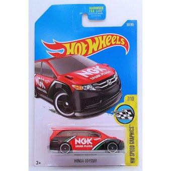 Xe mô hình tỉ lệ 1:64 Hot Wheels 2017 Kmart Honda Odyssey - Đỏ