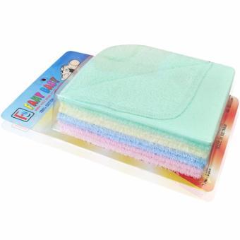 Bộ 8 cái khăn sữa 2 mặt Fany Baby 100% cotton