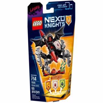 Đồ chơi xếp hình LEGO Nexo Knights 70335 - Chúa Tể Lavaria Hùng Mạnh