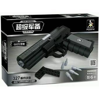 Bộ đồ chơi lắp ráp súng lục