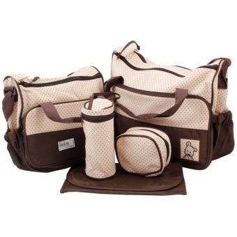 Túi đựng đồ cho mẹ và bé (Nâu)