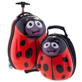 Bộ vali kéo cuties bọ đỏ Push