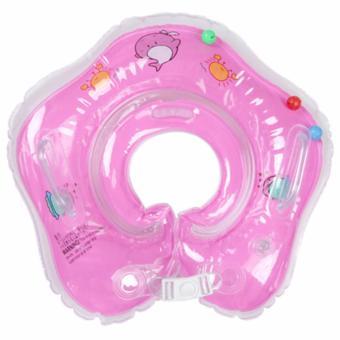 Phao tập bơi nâng cổ cho bé màu hồng