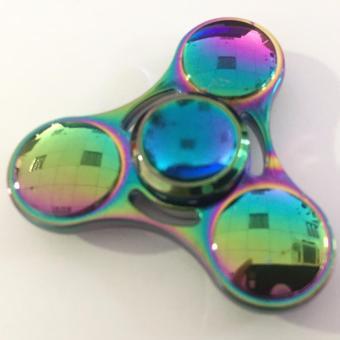 Con quay Fidget Spinner 3 cánh tròn 7 màu cực đẹp