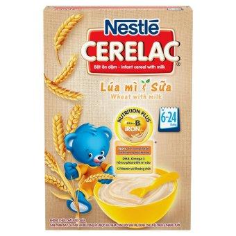 Bột ăn dặm Nestlé CERELAC Lúa mì sữa