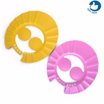 Bộ 2 mũ tăm chắn nước cài cúc cho bé có màng che tai ( vrg1141 - CB2)