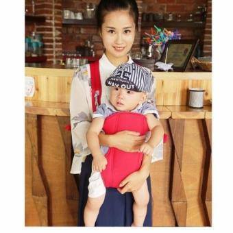 Địu em bé 4 tư thế Baby Carrier Fiamma (Đỏ)