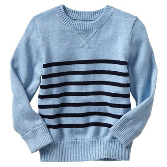 Áo len trẻ em Gap Engineer Navy Stripe 976194
