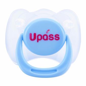 Ty ngậm Upass cho trẻ sơ sinh đơn - Xanh UP0281NX