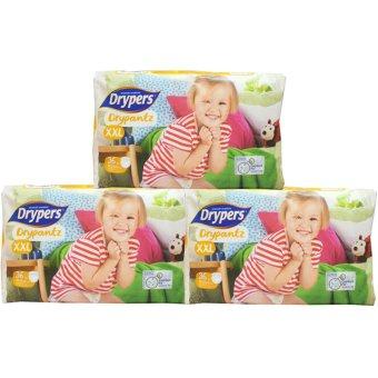 Bộ 3 tã quần Drypers Drypantz XXL.36 (trên 15 kg)