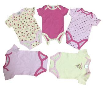 Combo 2 áo liền quần (body suite Baby Gear) cho bé gái từ 6-12 tháng (mầu sắc bất kì)