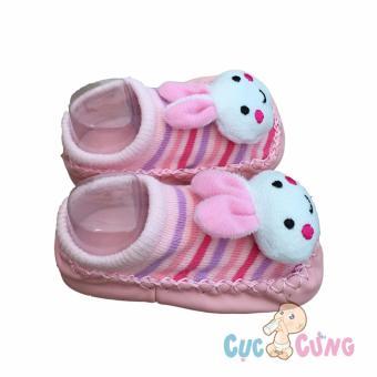 Giày tập đi cho trẻ sơ sinh - hình thỏ