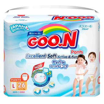 Tã quần Goon Super Jumbo L26