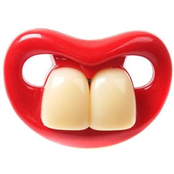 LALANG Baby Funny Teeth Pacifier Orthodontic Nipples NO.2 - intl