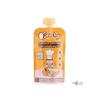 Súp Bí Đỏ, Sữa Bắp Và Khoai Tây Nghiền – Peachy